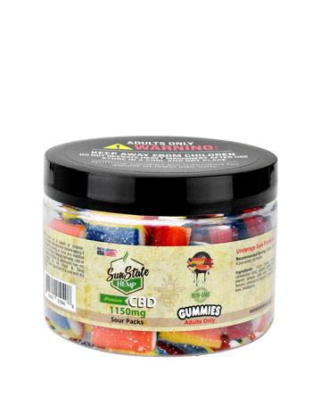 Gummy Sour Packs 1150mg