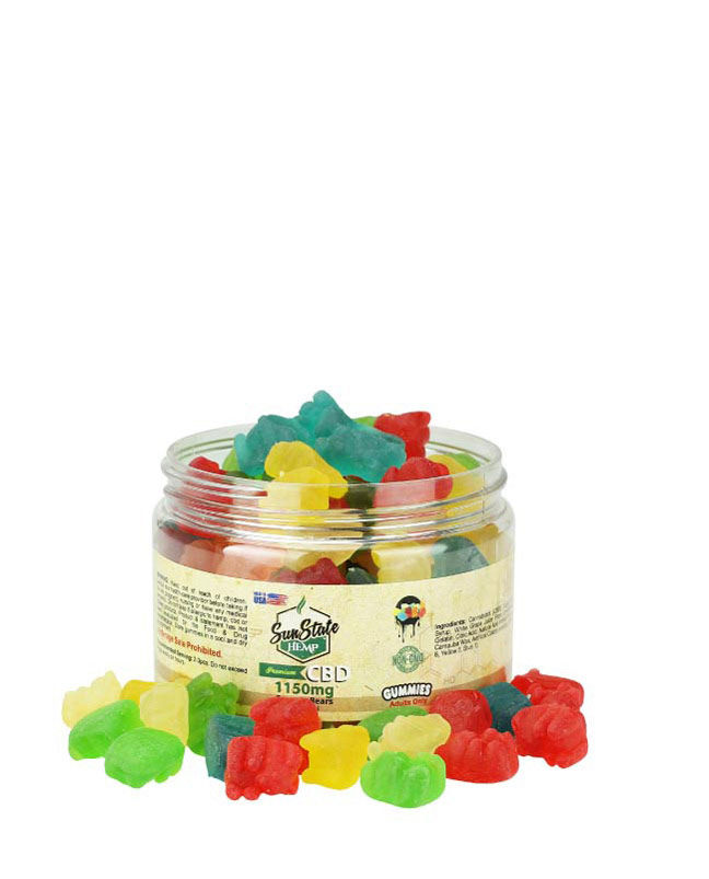Gummy Bears Traditional Clear 1150mg