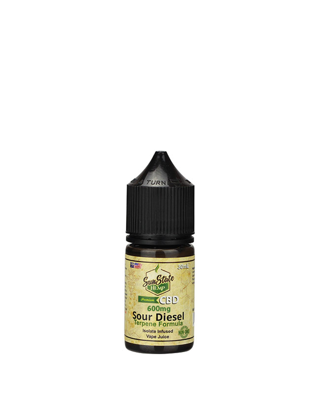 Vape Juice Sour Diesel  600mg | Sun State Hemp