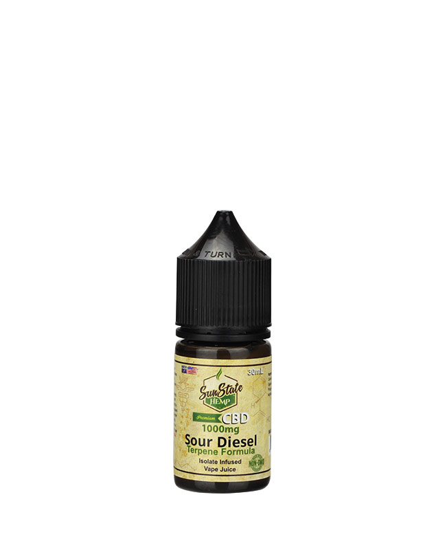 Vape Juice Sour Diesel 1000mg | Sun State Hemp