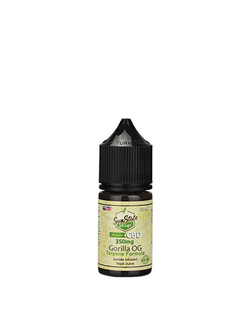 Vape Juice Gorilla OG 30ml 350mg | Sun State Hemp