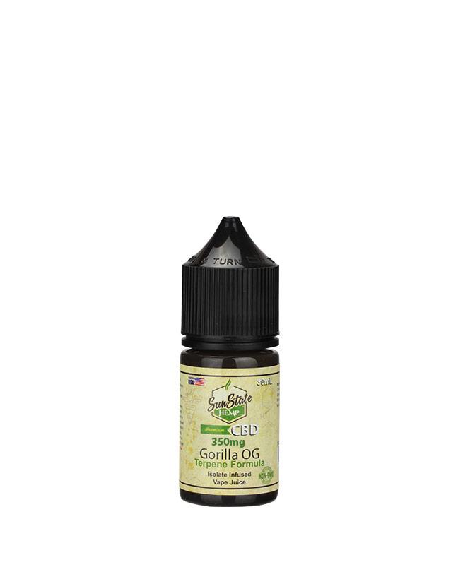 Vape Juice Gorilla OG  350mg | Sun State Hemp