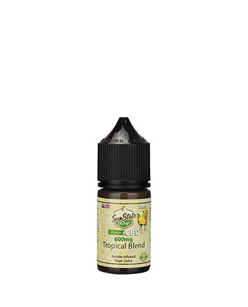 Vape Juice Tropical Blend 30ml 600mg | Sun State Hemp