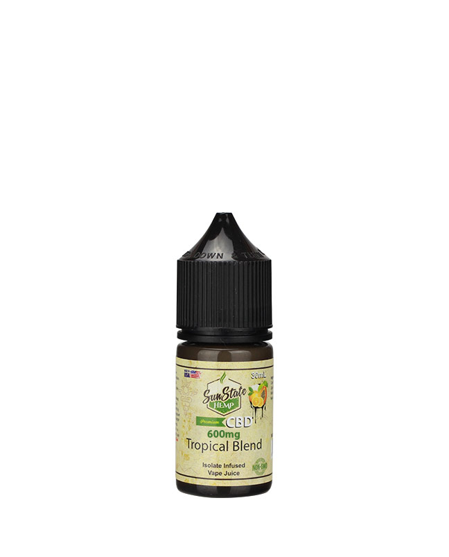 Vape Juice Tropical   600mg | Sun State Hemp