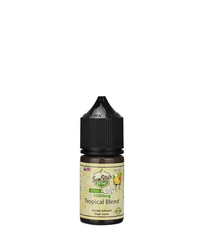 Vape Juice Tropical  1000mg | Sun State Hemp