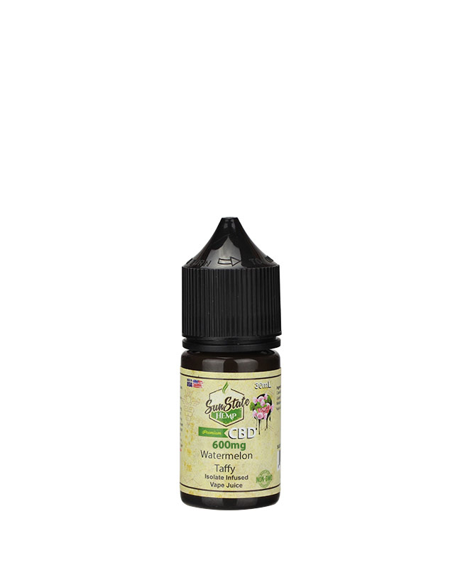 Vape Juice Watermelon Taffy  600mg | Sun State Hemp