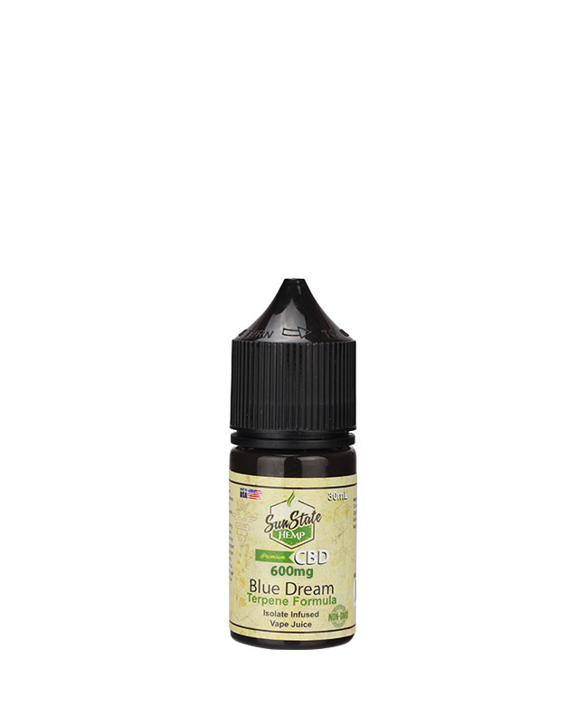 Vape Juice Blue Dream   600mg | Sun State Hemp