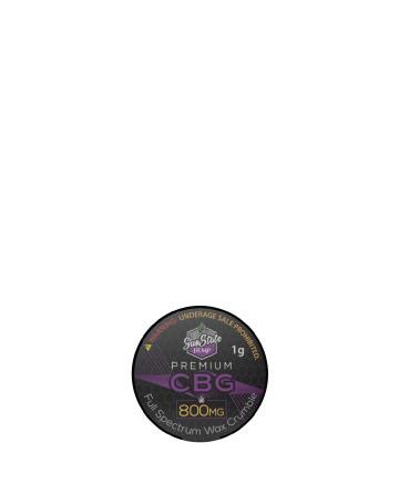 CBG Wax Crumble 800mg | Sun State Hemp
