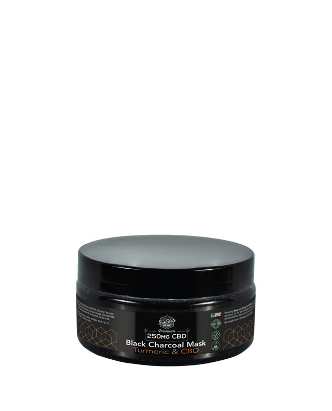 250mg Black Charcoal and Turmeric Mask 6.5oz