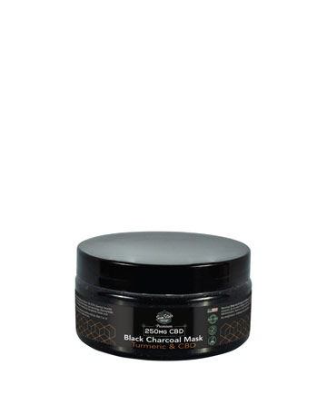 250mg Black Charcoal and Turmeric Mask 6.5oz | Sun State Hemp