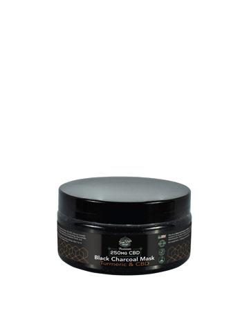 CBD Black Charcoal and Turmeric Mask  6.5oz 250mg | Sun State Hemp