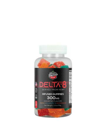 Delta 8 Infused Gummy 30ct 300mg