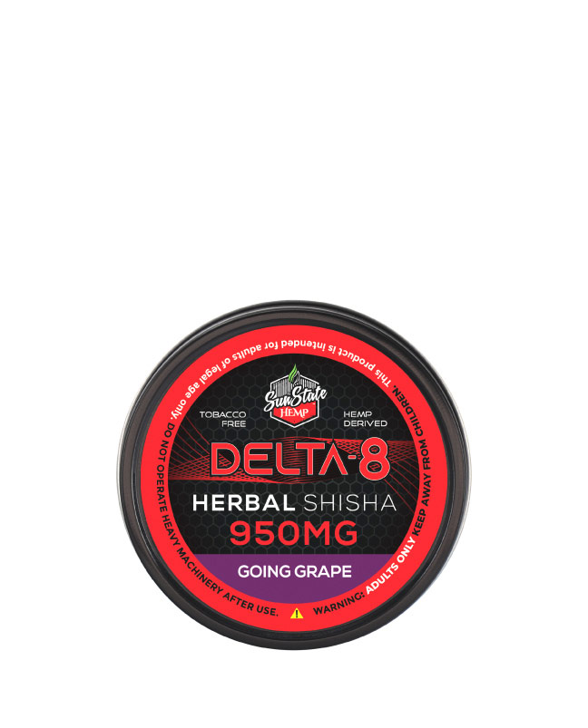 Delta 8 Shisha Going Grape 950mg