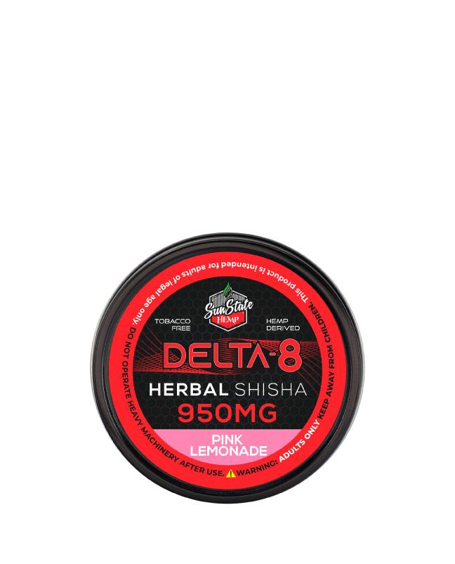 Delta 8 Shisha Pink Lemonade 950mg