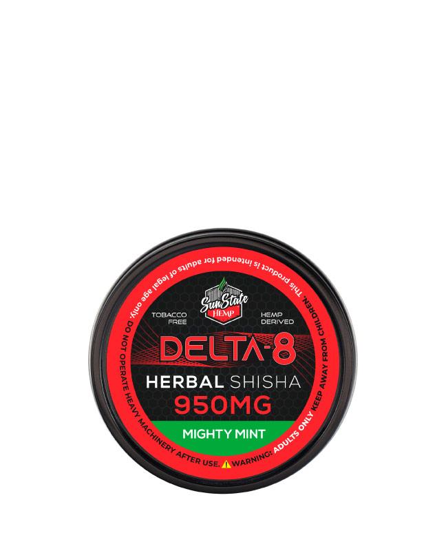 Delta 8 Shisha Mighty Mint 950mg