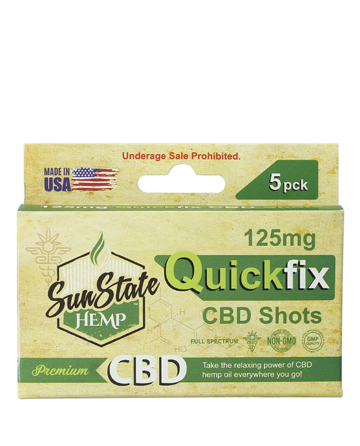 Quick Fix CBD Shots | Sun State Hemp