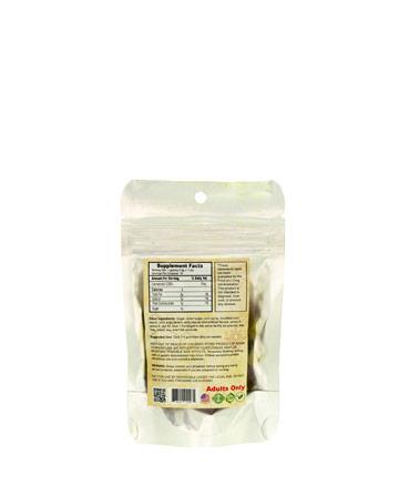 Bag Full Spectrum Gummy Fruit Shapes - 100mg | Sun State Hemp