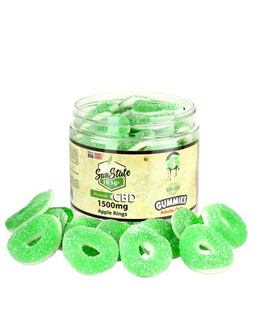 Apple Rings 1500mg | Sun State Hemp
