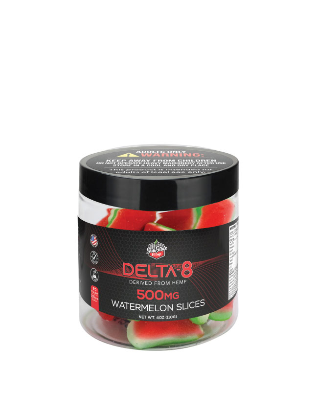 Delta 8 Legacy Gummy Watermelon Slices 20pcs 500mg