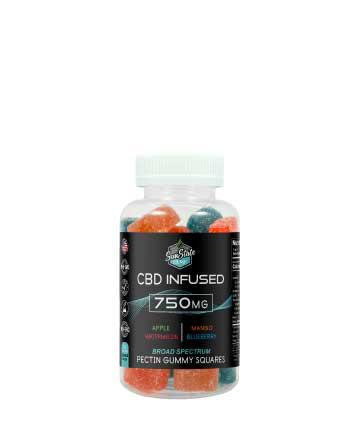 CBD Broad Spectrum Gummy Pectin Infused 30pcs 750mg / 60pcs 1500mg