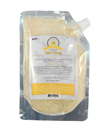 Bath Dust Muscle and Joint 150mg | Sun State Hemp