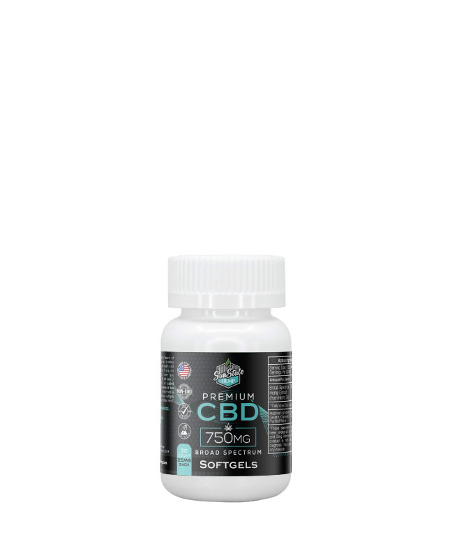 CBD Broad Spectrum Softgels 30pcs 750mg