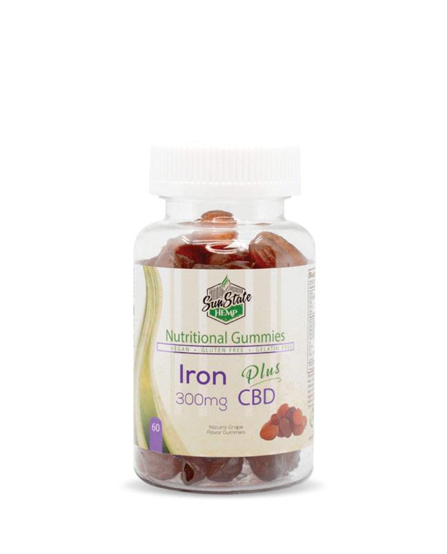 Nutritional Gummy Iron - 300mg