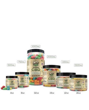 Vegan CBD Gummies | Sun State Hemp