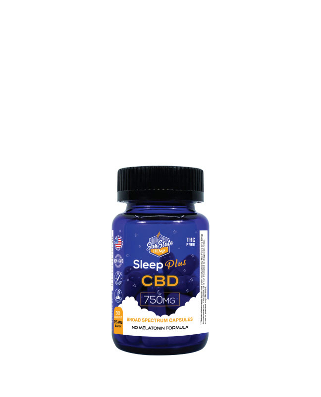 CBD Broad Spectrum Sleep Plus Capsules 30pcs 750mg