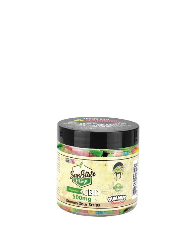 Gummy Sour Strips 500mg
