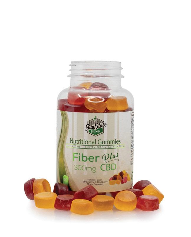 Nutritional Gummy Fiber - 300mg | Sun State Hemp