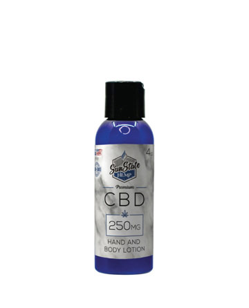 CBD Hand and Body Lotion 4oz 250mg | Sun State Hemp