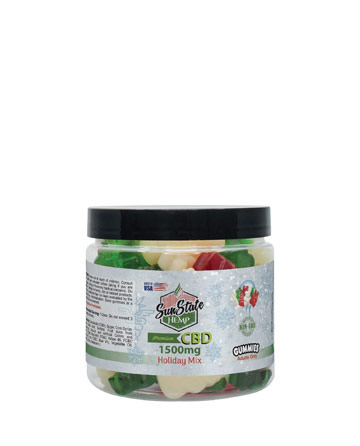 Gummy Holiday Mix Clear 1500mg