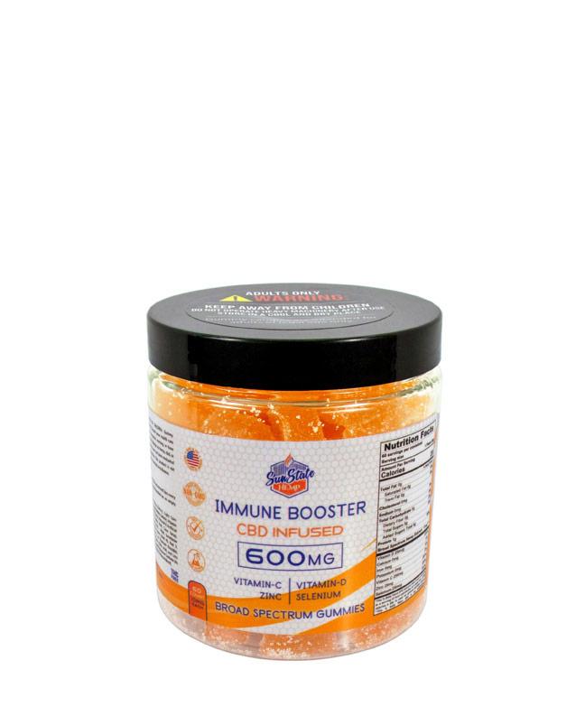 Broad Spectrum - Immune Booster Gummies 600mg - 60pcs