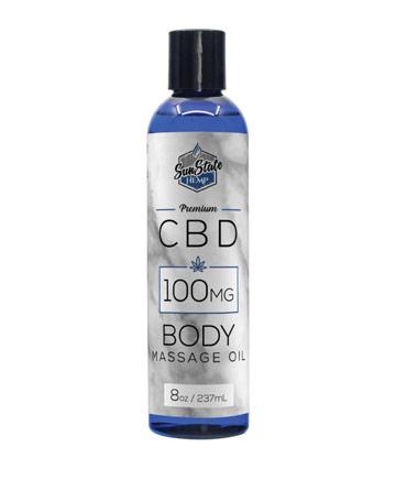 Body Massage Oil  8 oz 100 mg