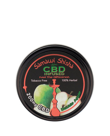 Samawi Shisha 200mg - Double Apple | Sun State Hemp
