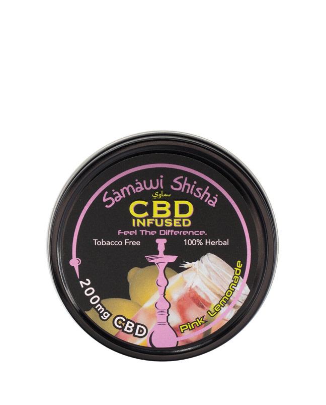 CBD Samawi Shisha Pink Lemonade 200mg