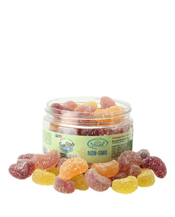 Organic Gummy Fruit Slices (Vegan) 1150mg | Sun State Hemp