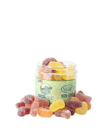 Organic Gummy Fruit Slices (Vegan) 750mg | Sun State Hemp