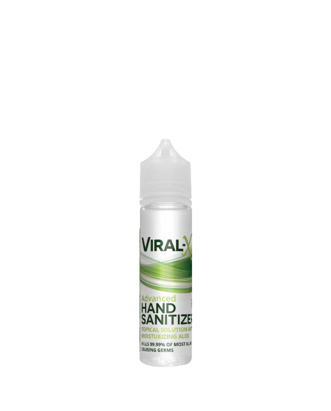 Viral-X Hand Sanitizer with Aloe 60ml | Sun State Hemp